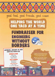 Fund Raiser for Engineers Without Borders Flyer
